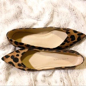 Marc Fisher Cheetah Print flats